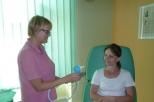 Příprava a poučení pacientky před výkonem