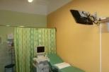 Ultrazvuk s monitorem pro budoucí maminky a pacientky